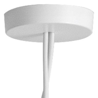 Rosace multiple / Pour connecter jusqu'à 5 suspensions AIM & AIM SMALL - Flos blanc en métal