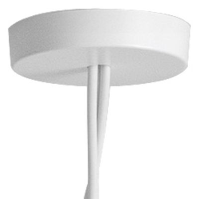 Image of Rosone multiplo - multiplo / Per collegare da 2 a 5 sospensioni AIM di Flos - Bianco - Metallo