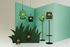 La Lampe Petite LED Solarlampe / kabellos - Gestell weiß - Maiori