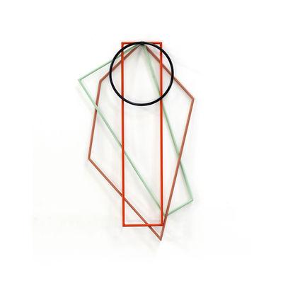 Tavola - Sottopiatti - Sottopentola - / Set di 4 - acciaio di valerie objects - Multicolore - Acciaio laccato