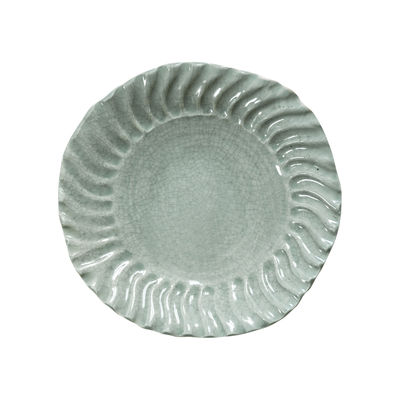 Tableware - Plates - Dashi Soup plate - / Ø 25.5 cm - Handmade stoneware by Jars Céramistes - Celadon - Enamelled sandstone