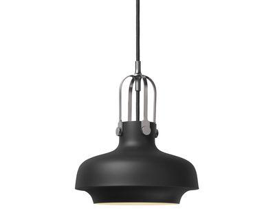 Luminaire - Suspensions - Suspension Copenhague SC6 / Ø 20 cm - Métal - &tradition - Métal / Noir - Métal laqué