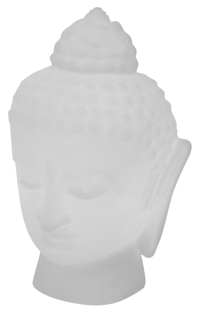 Decoration - Funny & surprising - Buddha Table lamp by Slide - White - recyclable polyethylene