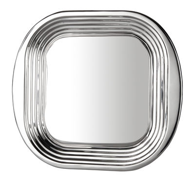 Tableware - Trays - Form Tray by Tom Dixon - Polished steel - Polished stainless steel