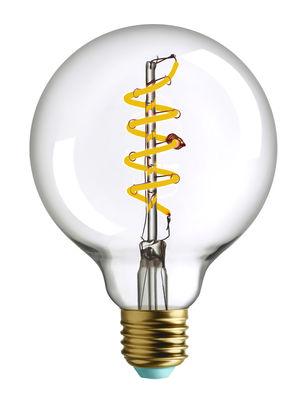 Ampoule LED filaments E27 Whirly Wyatt / 4W (19W) - 180 Lumen - Plumen transparent en verre