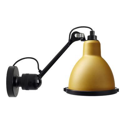 Applique d'extérieur 304 XL Outdoor Seaside / Orientable - Ø 22 cm / Rond - DCW éditions jaune,noir en métal