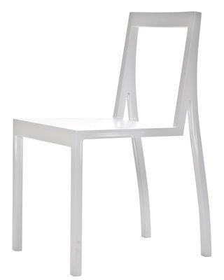 Chaise empilable Heel / Bois - Moroso blanc en bois