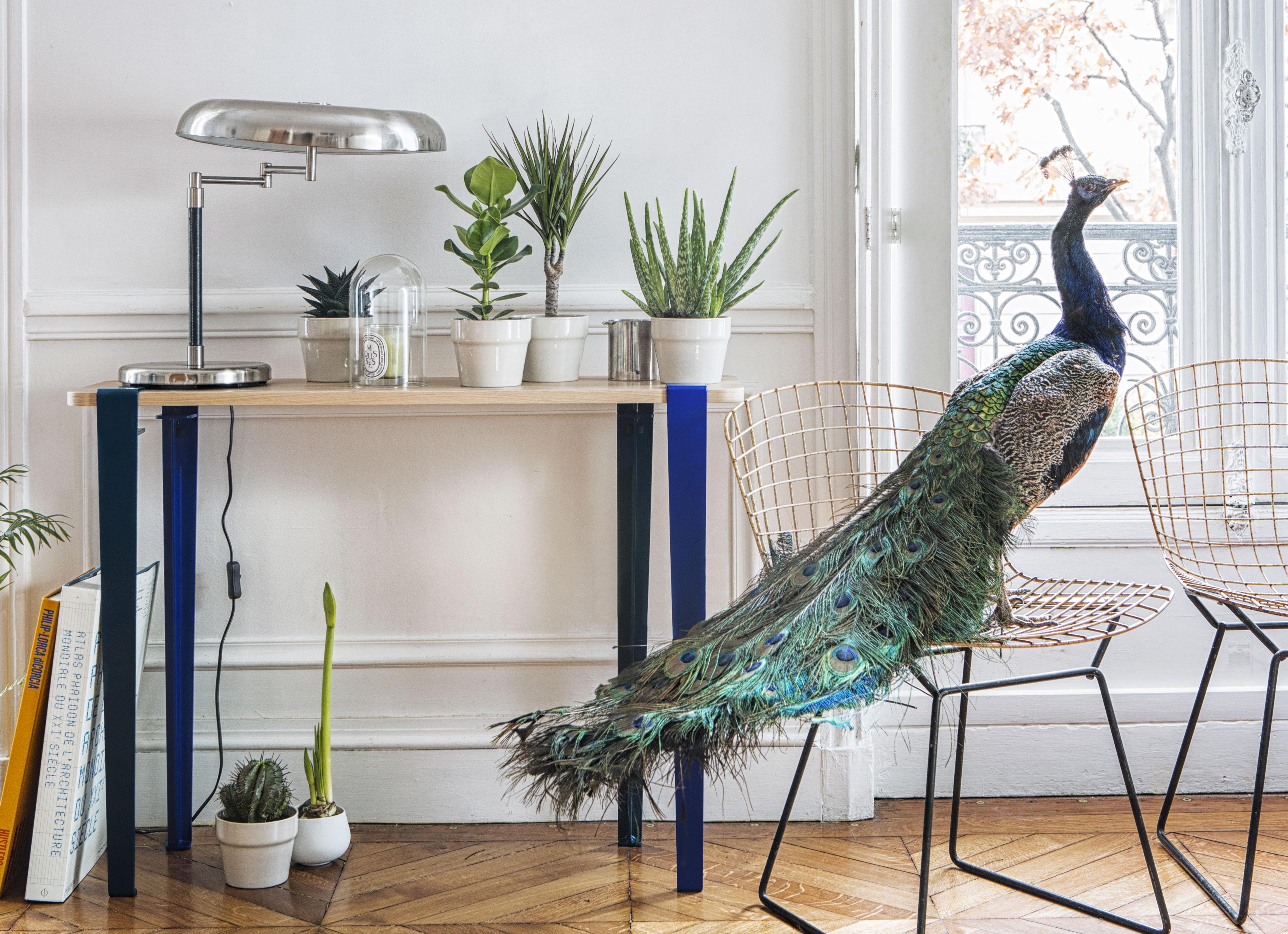 Pied de table indoor pour l intérieur h cm fixation