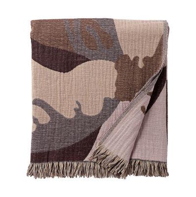 Déco - Textile - Plaid Flores / 170 x 130 cm - AYTM - Multicolore - Coton, Laine