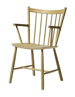 J42 Sessel / Holz - Hay - Chêne mat