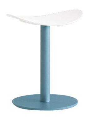 Image of Sgabello Coma - h  48 cm di Enea - Bianco - Metallo/Materiale plastico