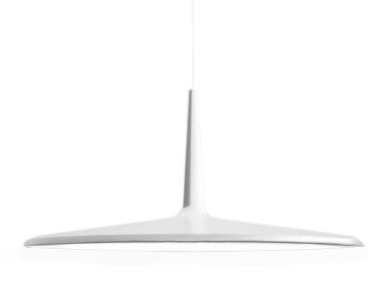 Illuminazione - Lampadari - Sospensione Skan - LED / Ø 30 cm di Vibia - Bianco - Metacrilato