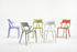 A.I Stackable armchair - / Designed by artificial intelligence by Kartell