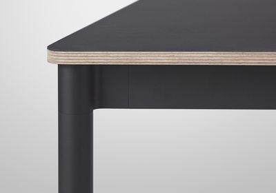 Table Rectangulaire Base Plateau Bois 250 X 90 Cm Muuto