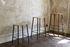 Tabouret haut Adam Cuir / H 76 cm - Indoor - Frama