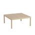 Tavolino Workshop - / Rovere - 86 x 86 cm di Muuto