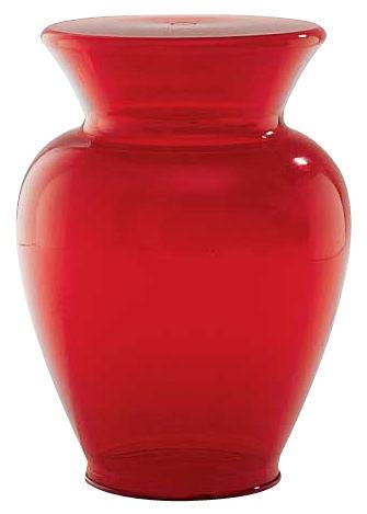 Déco - Vases - Vase Gargantua / H 42,5 x Ø 33 cm - Kartell - Rouge - Polycarbonate