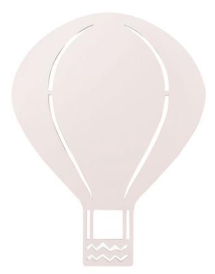 Air Balloon Wandleuchte mit Stromkabel / Eiche - Ferm Living - Blassrosa