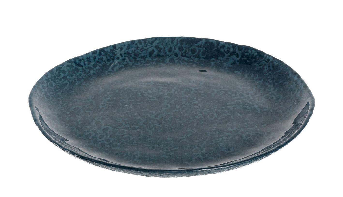 Arts de la table - Assiettes - Assiette Firenze / Ø 22 cm - Leonardo - Bleu - Verre