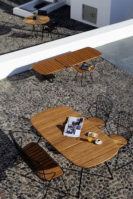 Pleasing Paon Bench L 116 Cm Metal Bamboo By Houe Spiritservingveterans Wood Chair Design Ideas Spiritservingveteransorg