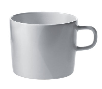 Tableware - Coffee Mugs & Tea Cups - Platebowlcup Expresso cup by A di Alessi - White cup - China