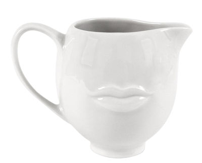 Kitchenware - Sugar Bowls, Milk Pots & Creamers - Reversible Creamer by Jonathan Adler - White - China