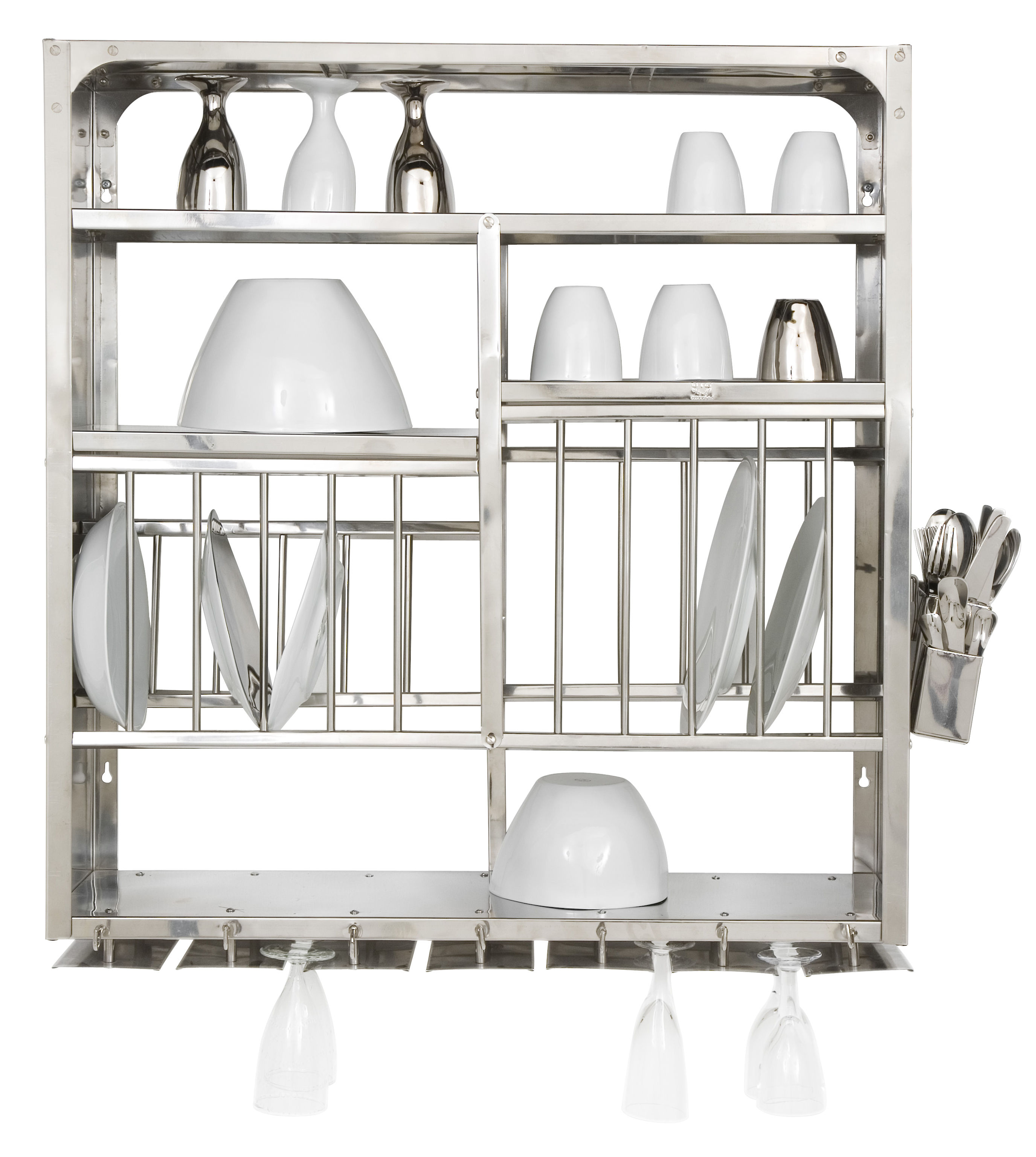 Kitchenware - Cool Kitchen Gadgets - Large Draining rack by Tsé-Tsé - Inox - Stainless steel