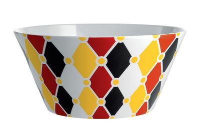 Tavola - Ciotole - Insalatiera Circus / Ø 23 x H 11 cm - Porcellana inglese - Alessi - Multicolore - Porcellana inglese