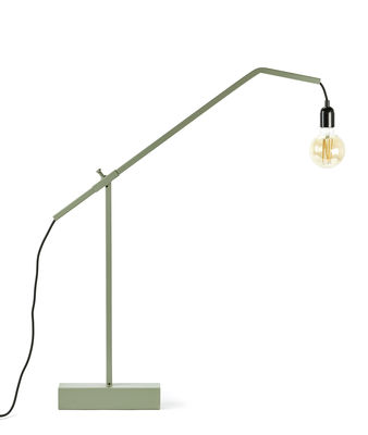 Illuminazione - Lampade da terra - Lampada a stelo F.03 - / H 79 cm di Serax - Verde - Acciaio verniciato a polveri