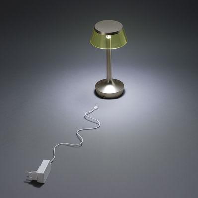 Lampada Senza Fili Bon Jour Unplugged Di Flos Grigio Made In Design