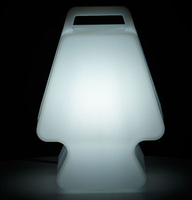 Interni - Per bambini - Lampada senza fili Prêt à Porter - LED / Slide - Bianco - polietilene riciclabile