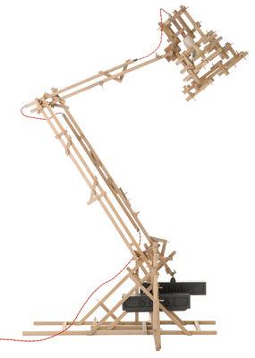 Lampadaire Brave new world H 180 cm - Moooi chêne naturel en métal