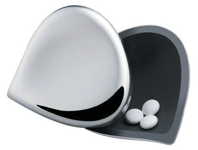 Accessories - Bags, Purses & Luggage - Chestnut Pill dispenser by Alessi - Steel - Stainless steel 18/10
