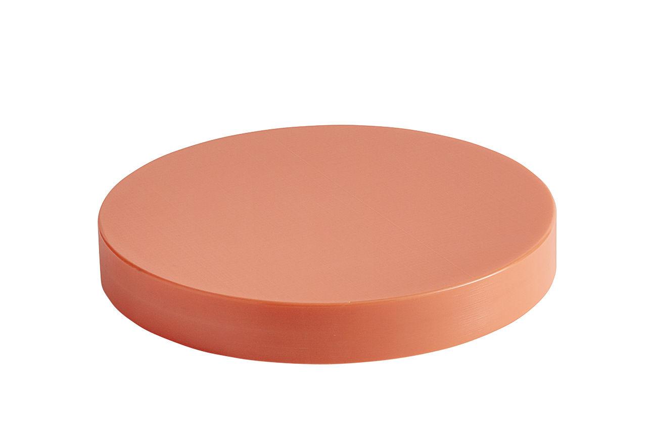 Arts de la table - Plateaux - Planche à découper Medium / Ø 25 cm - Polyéthylène - Hay - Corail - Polyéthylène