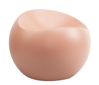 Arredamento - Poltrone design  - Pouf Ball Chair - / Finitura opaca di XL Boom - Nude opaco - ABS riciclato laccato