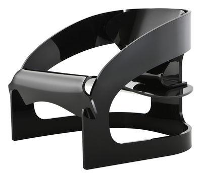 Möbel - Lounge Sessel - 4801 Sessel by Joe Colombo - limitierte und numerierte Auflage - Kartell - Schwarz - PMMA