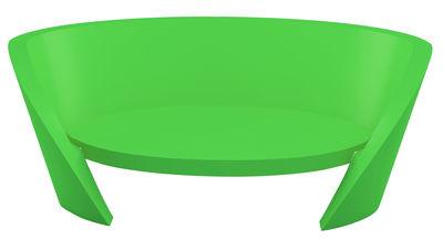Image of Sofà Rap di Slide - Verde - Materiale plastico