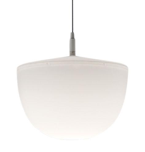 Illuminazione - Lampadari - Sospensione Cheshire - - Ø 35 x H 34 cm di Fontana Arte - Bianco - policarbonato