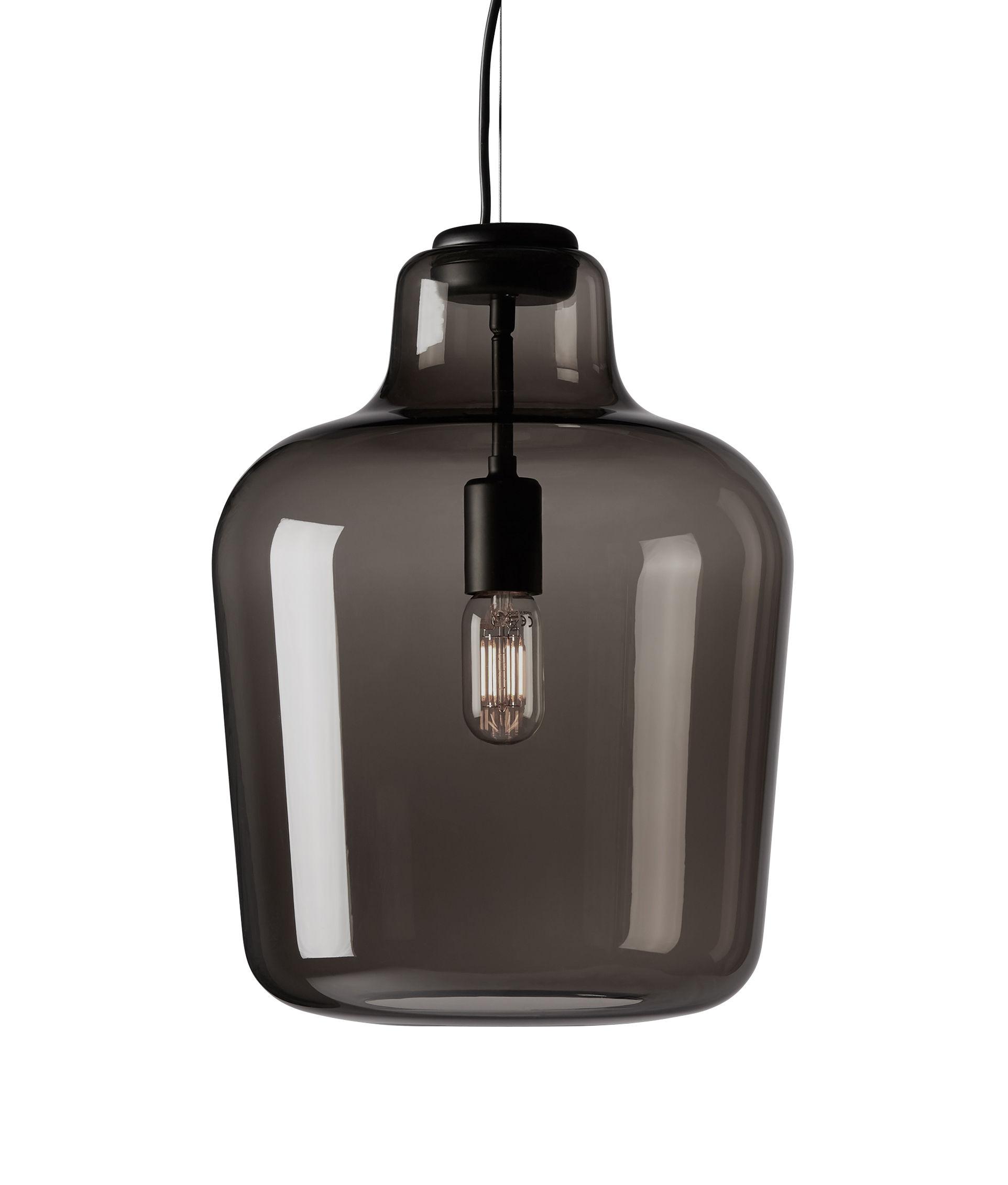 Illuminazione - Lampadari - Sospensione Say My Name - / Vetro di Murano soffiato a bocca di Northern  - Fumé trasparente - Vetro di Murano soffiato a bocca