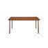 Table rectangulaire Patio / Inox - 140 x 80 cm - Tolix