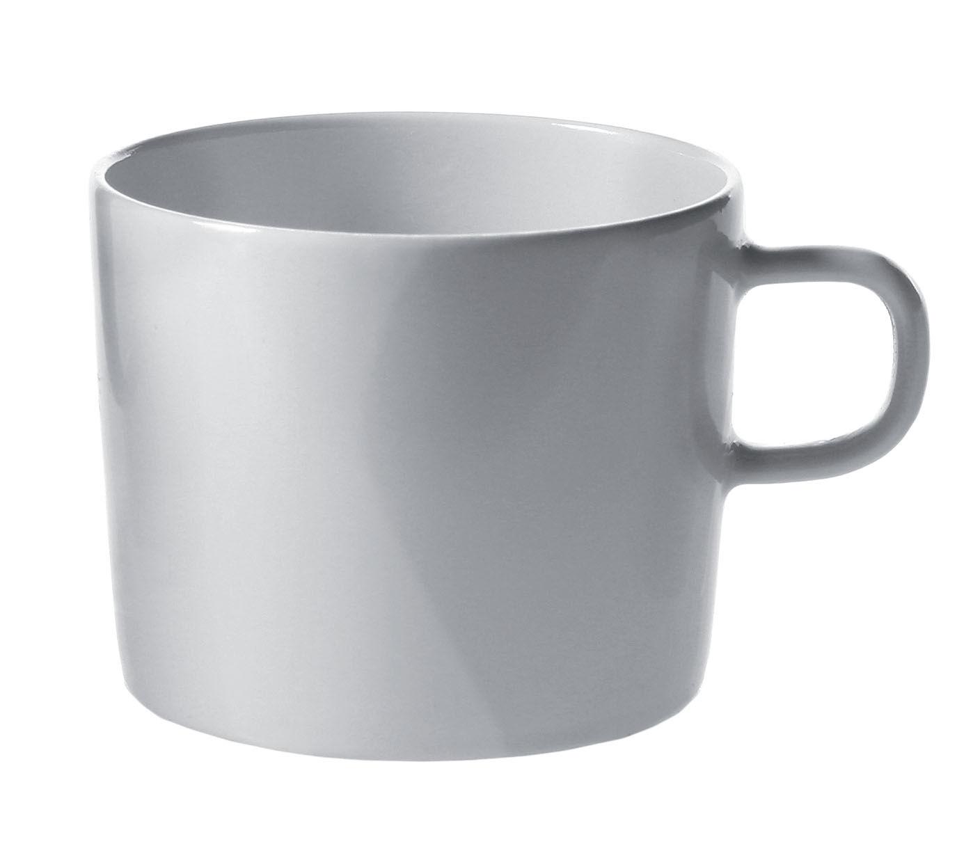 Arts de la table - Tasses et mugs - Tasse à café Platebowlcup - A di Alessi - Tasse blanche - Porcelaine