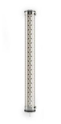 Belleville LED Wandleuchte / Hängeleuchte - L 130 cm - SAMMODE STUDIO - Stahl,Transparent