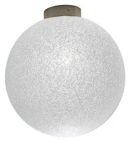 Illuminazione - Lampade da parete - Applique IceGlobe - Plafoniera di Lumen Center Italia - Ø 20 cm - Bianco - Metallo, policarbonato