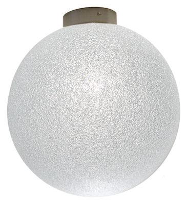 Luminaire - Appliques - Applique IceGlobe / Plafonnier - Lumen Center Italia - Ø 20 cm - Blanc - Métal, Polycarbonate