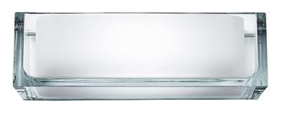 Applique Ontherocks 1 HL - Flos blanc,transparent en métal