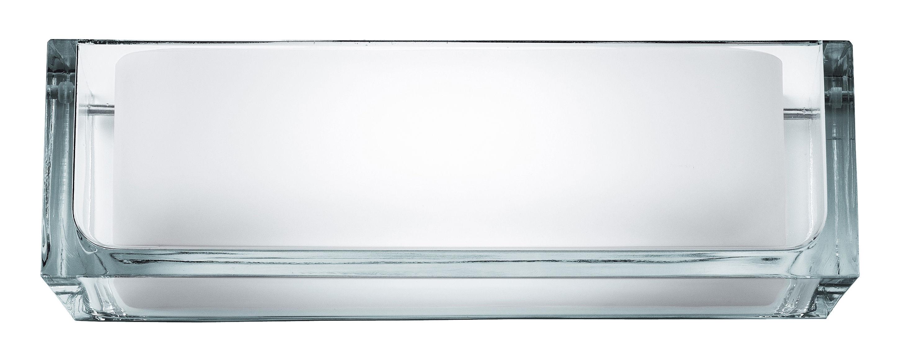 Luminaire - Appliques - Applique Ontherocks 1 HL - Flos - Verre - Verre