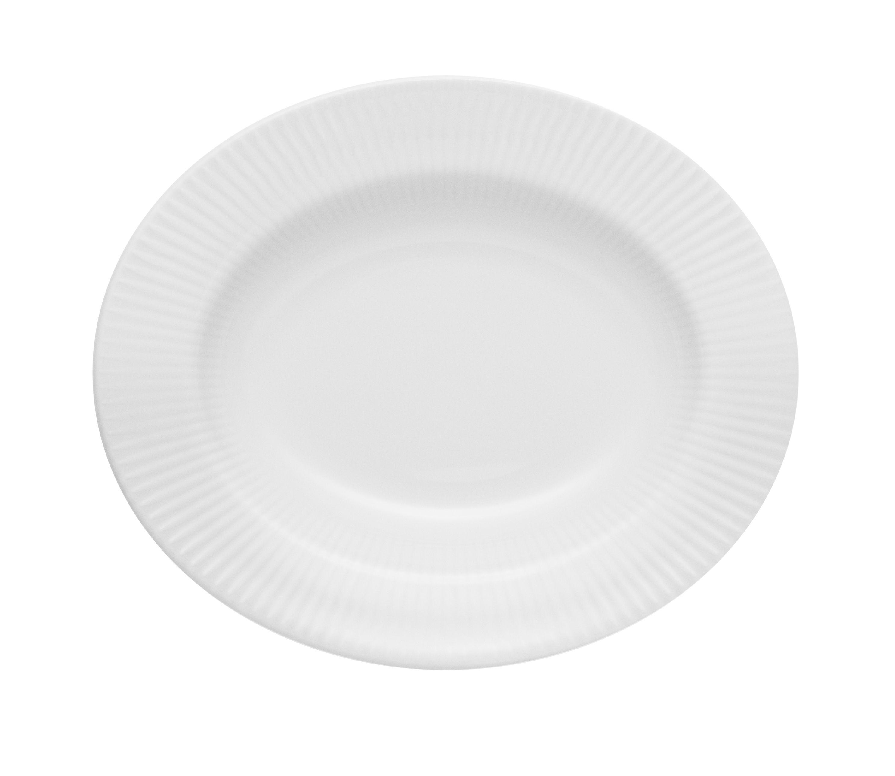 Arts de la table - Assiettes - Assiette Legio Nova / Ø 21 cm - Porcelaine - Eva Trio - Blanc - Porcelaine de haute qualité