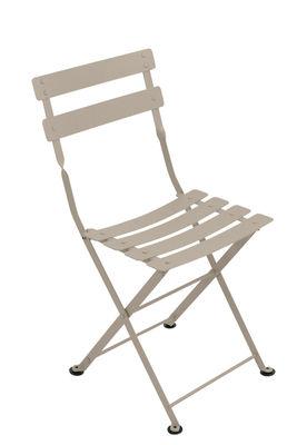Chaise enfant Tom Pouce / Pliante - Acier - Fermob muscade en métal