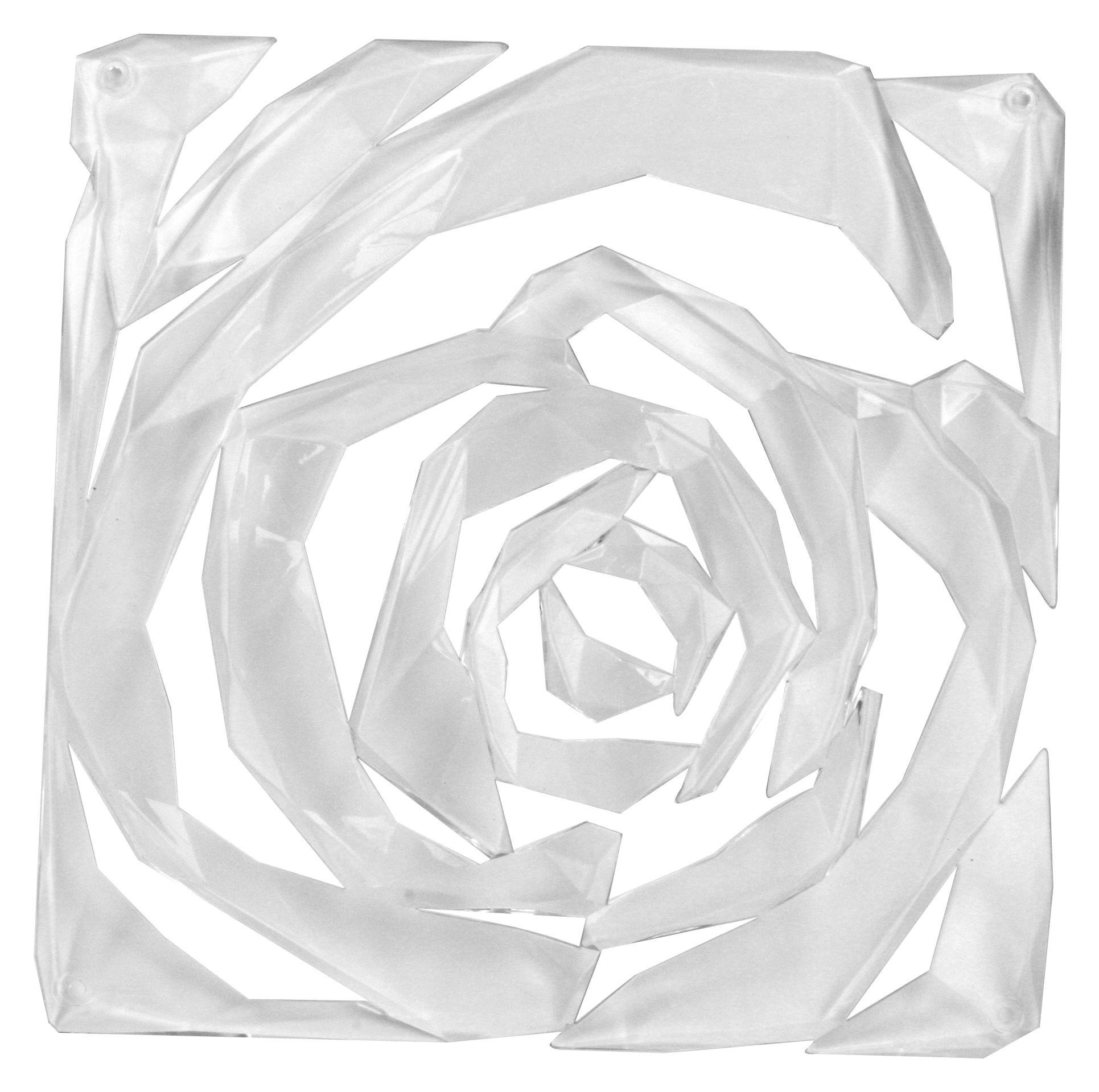 Mobilier - Paravents, séparations - Cloison Romance / Set de 4 - Crochets inclus - Koziol - Transparent - Polycarbonate