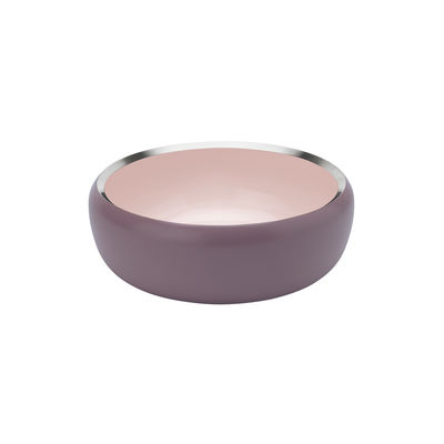 Tavola - Ciotole - Coppa Ora Medium - / Ø 22 cm - Acciaio di Stelton - Ø 22 cm / Rosa antico & rosa polvere - Acciaio inossidabile
